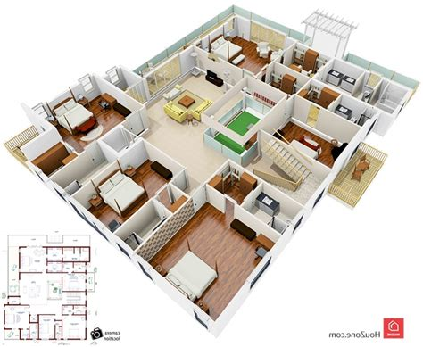 duplex home design plans 3d 3d house design duplex 3d floor plan of a duplex house