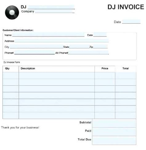 equipment invoice template equipment invoice template equipment rental templates