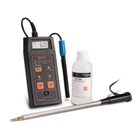 hi993310 portable soil activity conductivity meter