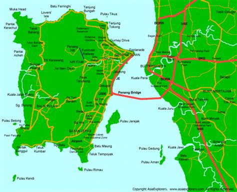 printable map georgetown penang get the latest penang maps