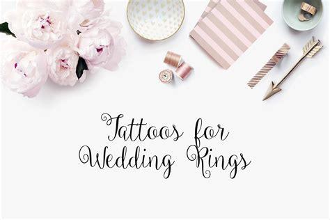 wedding ring tattoos permanent like wedding ring tattoos style inspired weddings