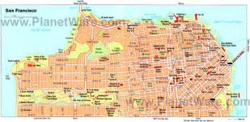 Maps Of San Francisco by Map Of San Francisco You Can See A Map Of Many Places On