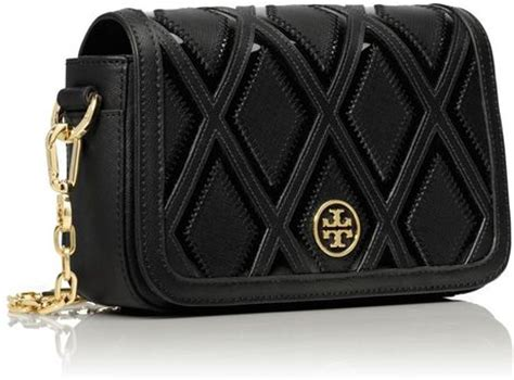 Burch Robinson Patchwork - burch robinson patchwork chain mini bag in black