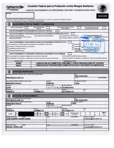 examen cofepris para dispensacion examen para certificacion de cofepris permisos y