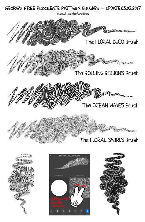 net pattern brush free procreate deco pattern brushes by georgvw on deviantart