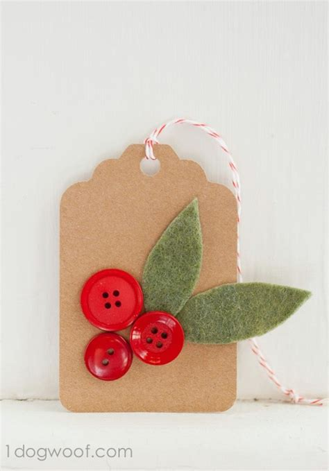 35 jolly and crafty gift tags to make your presents look