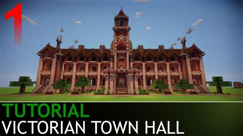 Victorian House Blueprints by Minecraft How To Build A Victorian Town Hall Part 1 4