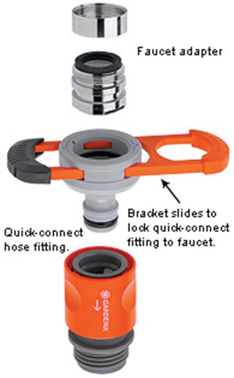 Indoor Faucet To Garden Hose Connector by Indoor Faucet Adapter Valley Tools