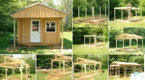 how to build a small cabin in the woods comment construire une cabane de jardin toutcomment
