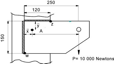 form design of welded members weld stress calculations