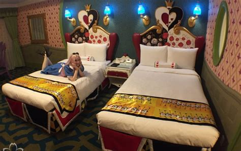 themed hotels in tokyo inside tokyo disneyland hotel s alice in wonderland themed