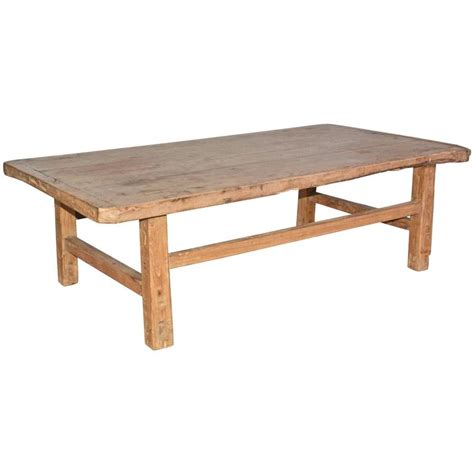 Rustic Teak Coffee Table Rustic Teak Coffee Table For Sale At 1stdibs