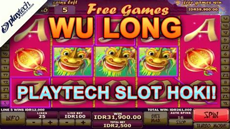 modal kecil menang besar main wu long playtech slot  indonesia youtube