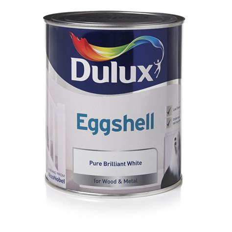 dulux bathroom paint price dulux quick dry eggshell paint pure brilliant white 750ml