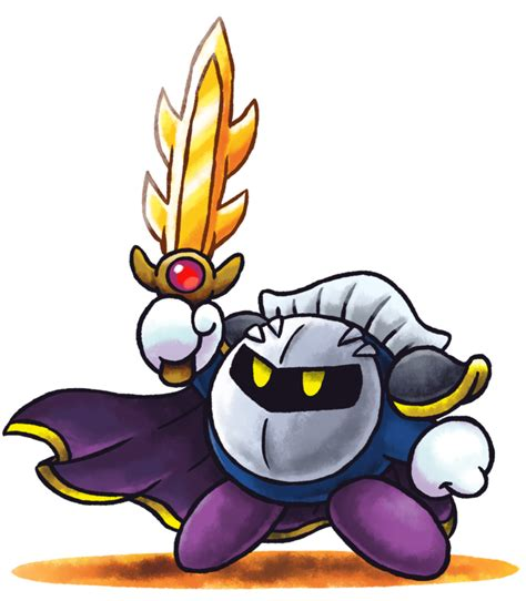 mario luigi rpg style meta knight by master rainbow on