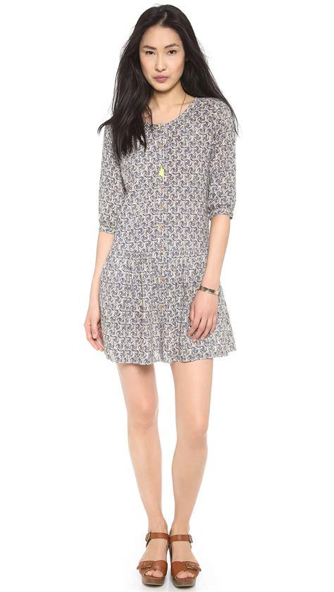 Dress Menyusui Batik 1 maison scotch cool batik block printed dress lyst