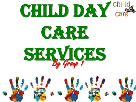 daycare service child day care services