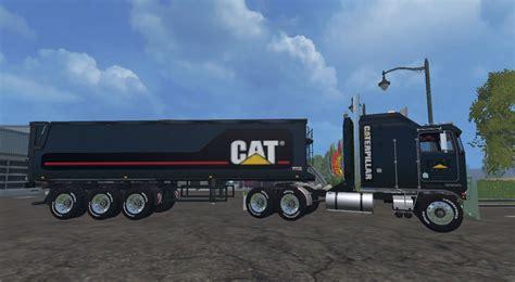 Ken Black Fs cat kenworth and trailers black edition fs 15 farming
