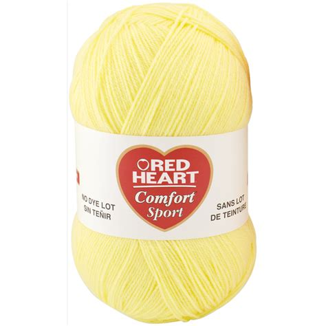 red heart comfort yarn patterns red heart comfort sport yarn 114416 create and craft