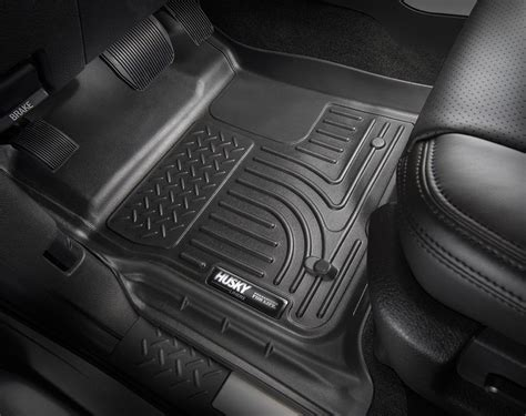 Husky Liner Mats by 2009 2014 Ford F150 Husky Liners Weatherbeater Floor