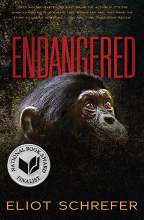 endangered species books eliot schrefer