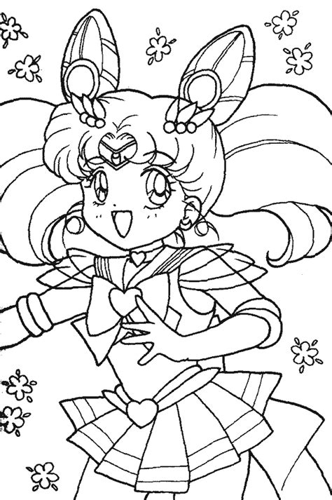 pudgy bunny coloring pages pudgy bunny s sailor moon coloring pagesさちびうさ 無料 セーラー