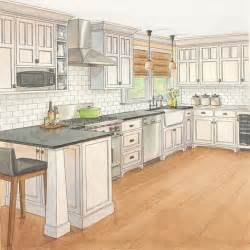 Craftsman Kitchen Cabinets Painted Craftsman Style Kitchen Cabinets