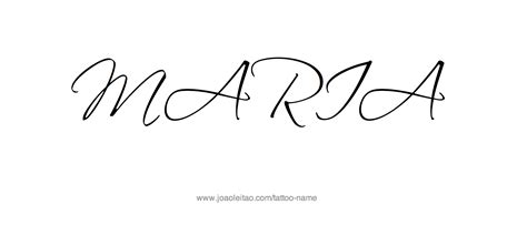 maria cursive name tattoos pictures to pin on pinterest