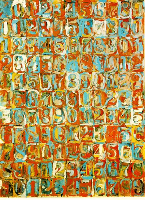 pattern artists work the arts jasper johns great american things