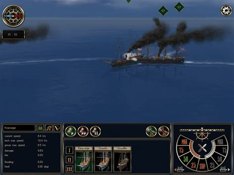 armchair general game ironclads high seas pc game review armchair general