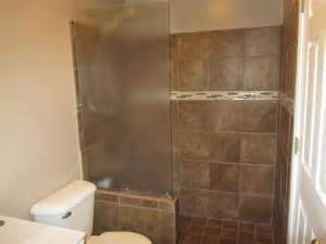 How To Install Ceramic Tile In Bathroom Tile Shower The Unhinged Home