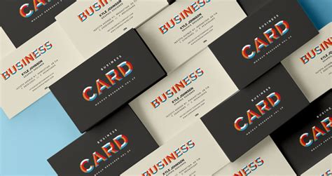 business card mockup display smart template 04 free business card template psd mockup
