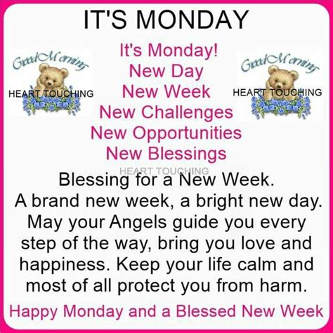 Its A New Day And A New Lookwel 2 by Happy Monday And Blessed New Week Pictures Photos And