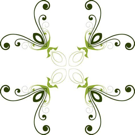 design clipart clipart flourish flower design 3