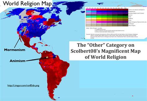america religion map the global spread of heterodox christianity geocurrents