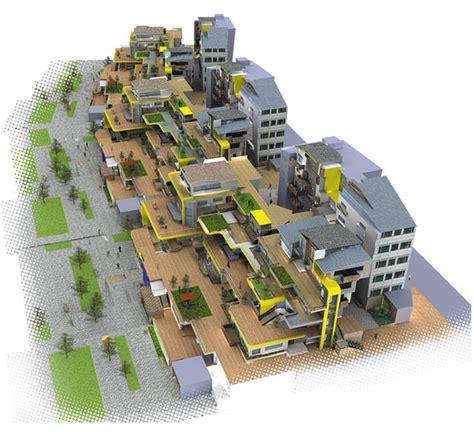 mass housing design tal friedman parametric architecture mass housing project haifa