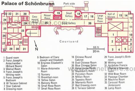 palace of versailles floor plan floor plan of schonbrunn palace showing sisi s bedroom in sisi s footsteps
