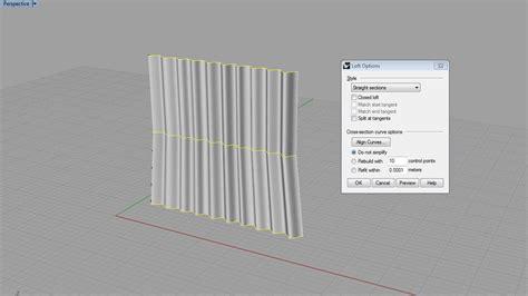 tutorial tende tutorial rhino 3d modellare una tenda