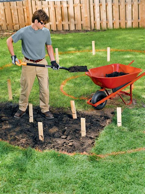 how to dig a fire pit in your backyard how to build a fire pit ring outdoor fireplace 1001