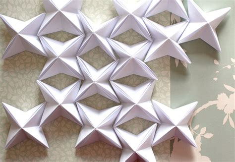 How To Make Paper Patterns - how to make a stunning designer look origami paper lantern