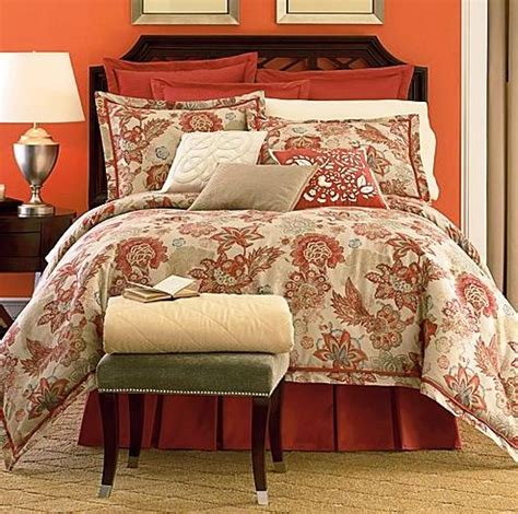 ralph 4pc floral check toile comforter new