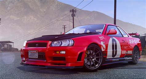 nissan hotwheels nissan r34 need for speed wheels livery gta5 mods com