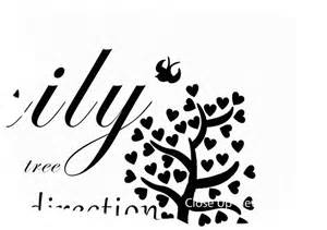 Wall Stickers For Kitchens family like branches on a tree white text quotes canvas