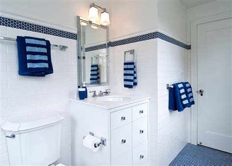boy and bathroom ideas blue boy s bathroom cottage bathroom tamara mack design