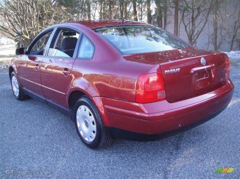 red volkswagen passat 1998 colorado red volkswagen passat gls 1 8t sedan