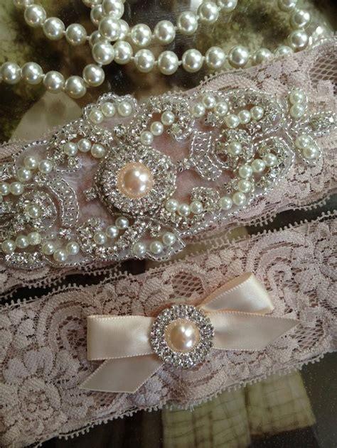 Wedding Garters by Wedding Garter Garter Garters Chagne Rhinestone Garter