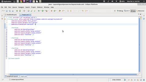 Relative Layout Nedir | android programlama iv layout t 252 rleri ve kullanımları