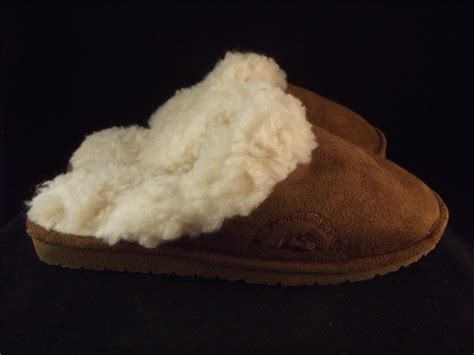 doggers slippers faux fur lined doggers clogs shoes scuffs womens
