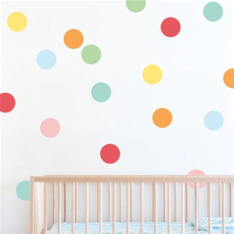 wall stickers dots confetti wall sticker dots decals for nursery 41 orchard