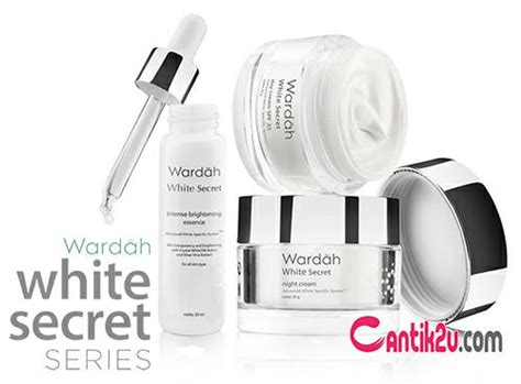 Harga Wardah White Secret The Series daftar harga wardah white secret series terbaru 2019